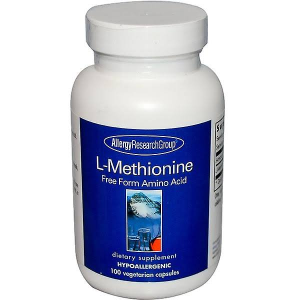 Allergy Research Group L Methionine Dietary Supplement - 100ct