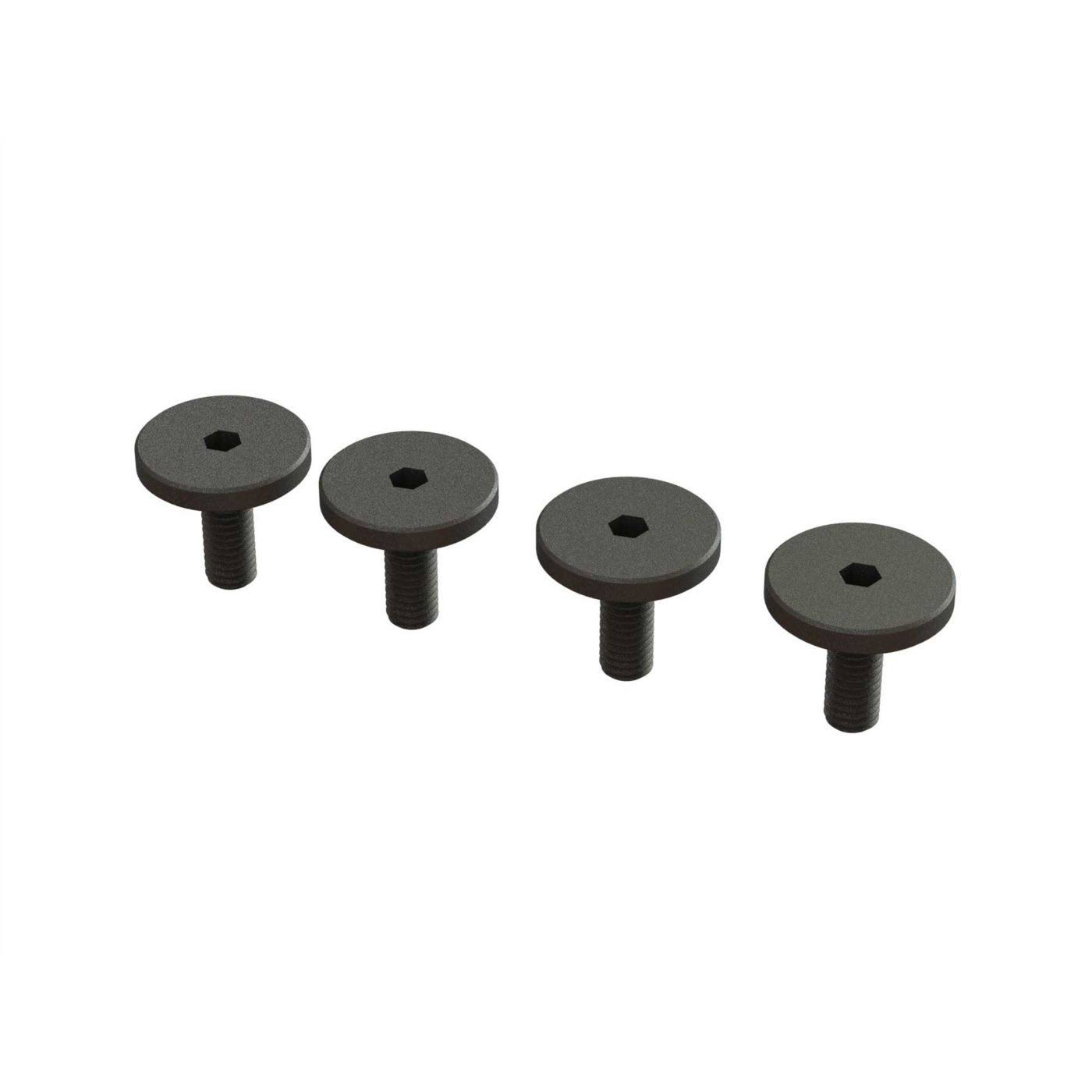 Arrma ARA727308 Large Head Screw - M3x8mm, 4pcs