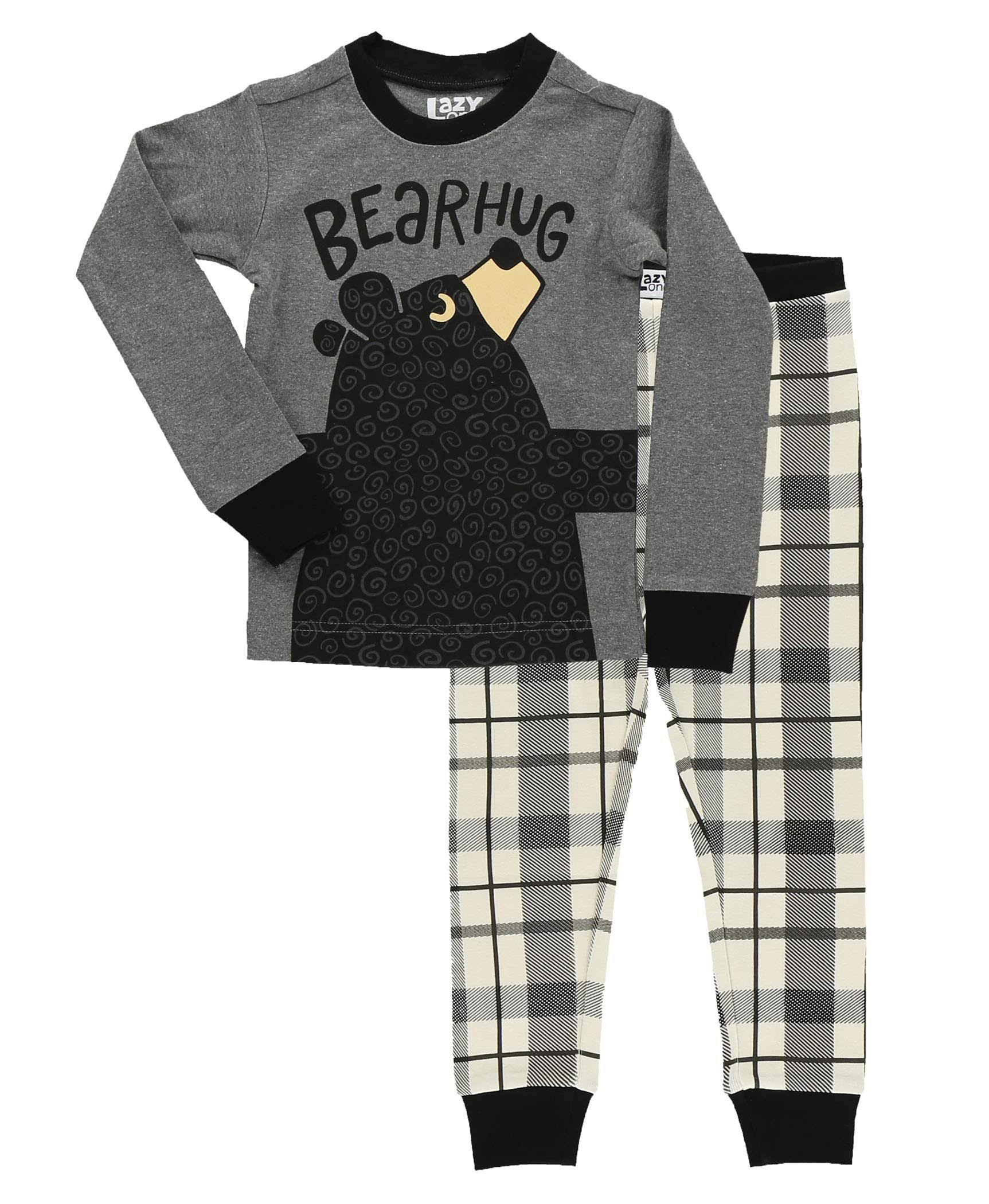 Lazy One Bear Hug PJ Set