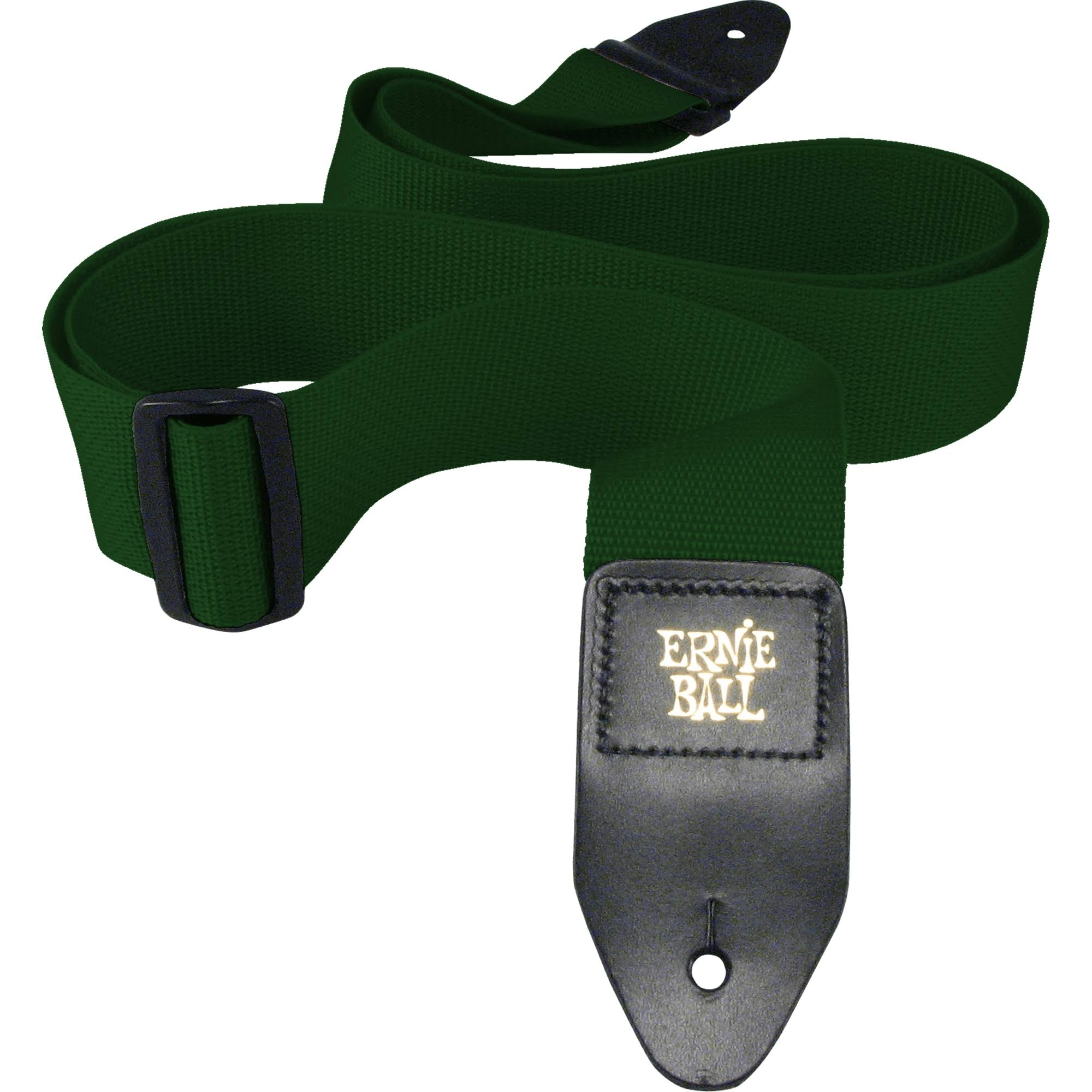 Ernie Ball Polypro Guitar Strap - Forest Green