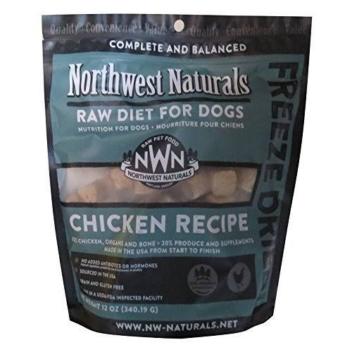 Northwest Naturals Raw Diet Freeze Dried Chicken Dog Food 12oz
