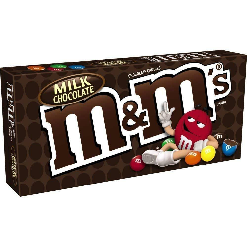 M and M's Theater Box Milk Chocolate Candy - 3.1oz