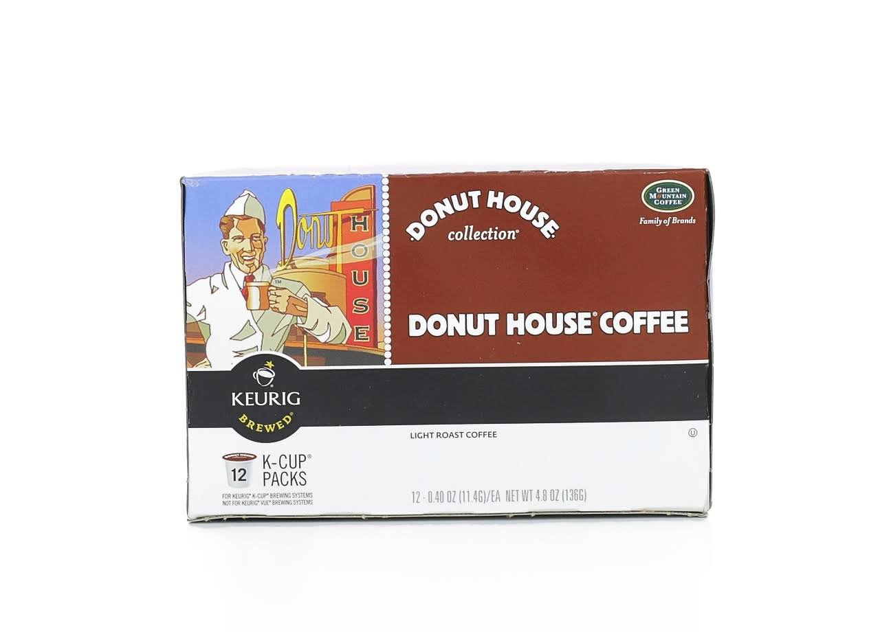 Donut House Collection Coffee Keurig K-cups - Light Roast, 72ct