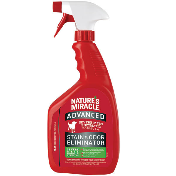 Nature's Miracle Advanced Stain & Odor Eliminator Spray