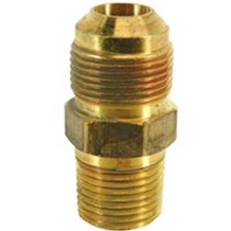 "Brass Craft Gas Connector - 5/8"" x 1/2"""
