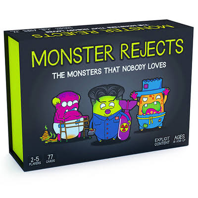 Monster Rejects Card Party Game