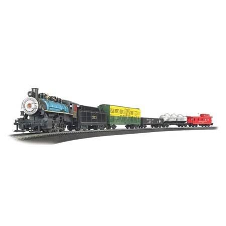 Bachmann Trains Chessie Special Ready To Run Electric Train Model Toy Set