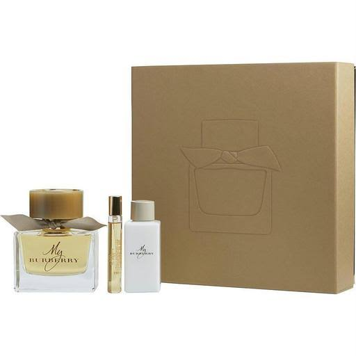 Burberry Womens My Burberry Eau De Parfum Gift Set - Set of 3