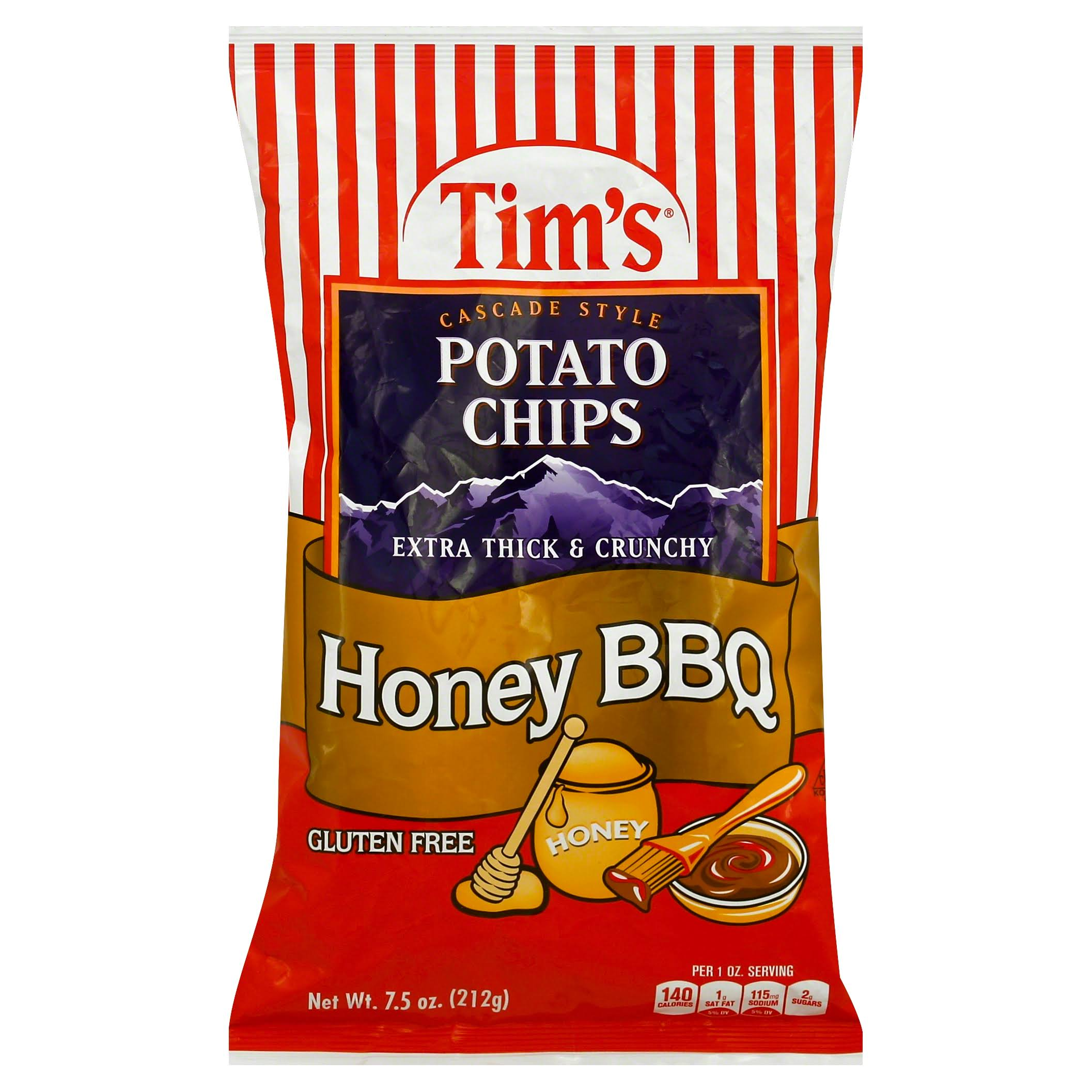 Tim's Cascade Style Honey BBQ Potato Chips