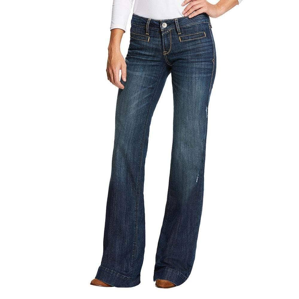 Ariat Women's Lucy Pacific Trouser Denim Jeans