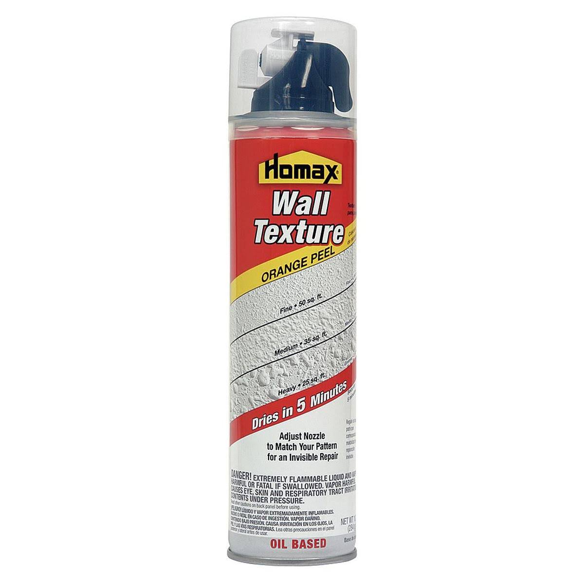 Homax Wall Orange Peel Quick Dry Oil-Based Spray Texture