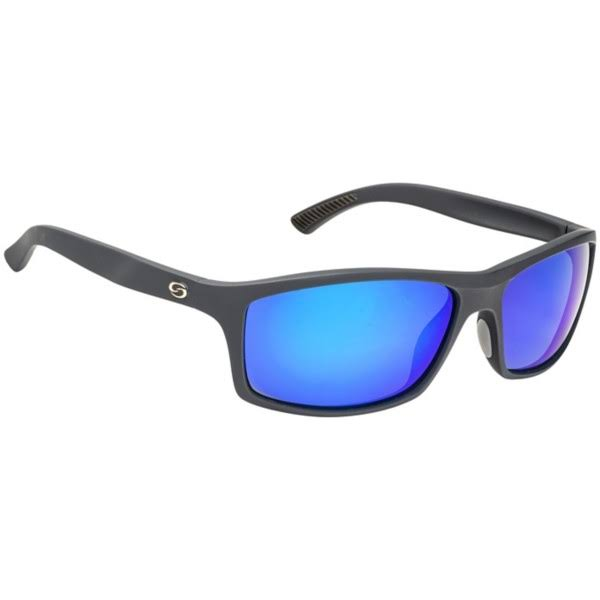 Strike King S11 Optics Brazos Black /Blue Mirror - SG-S1196