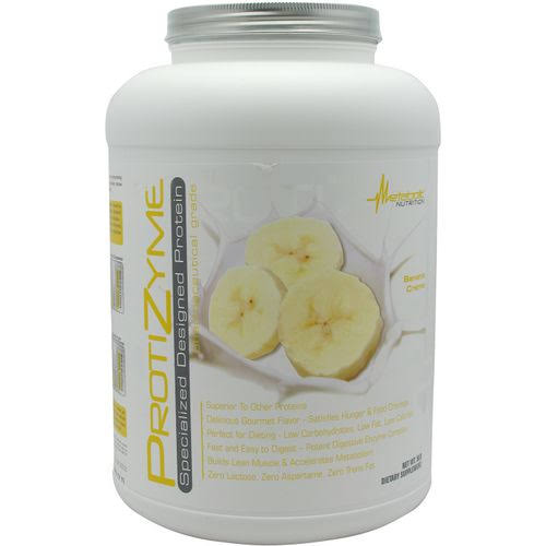 Metabolic Nutrition Protizyme - Banana Creme