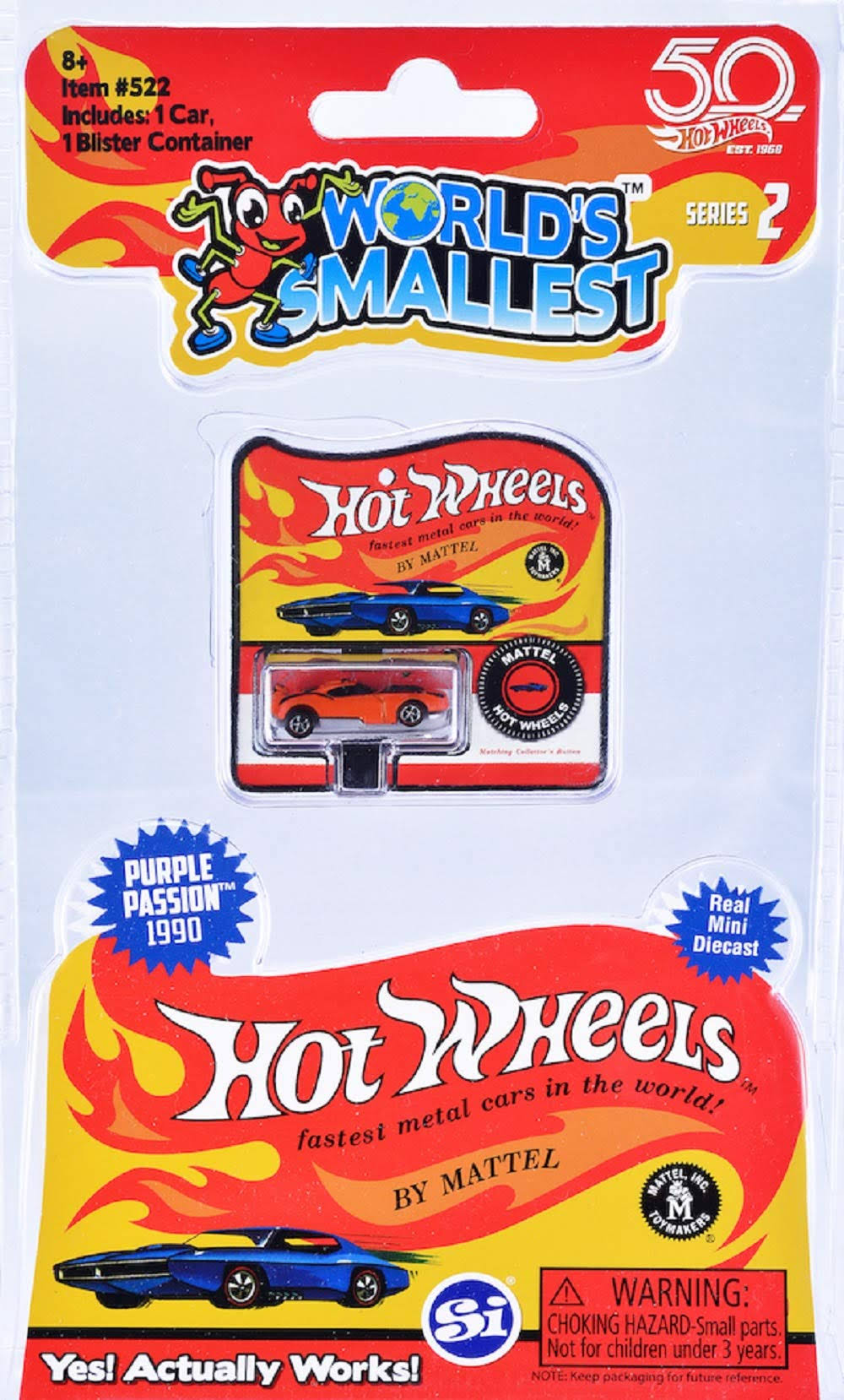 Hot Wheels World's Smallest Toy, Series 2