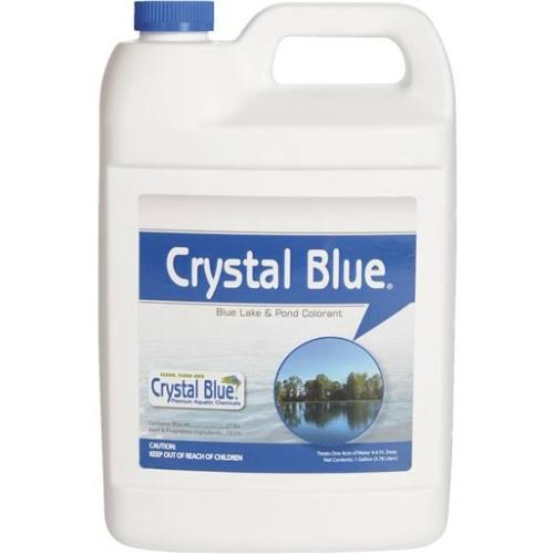 Crystal Blue Lake & Pond Colorant - Royal Blue, 1gal