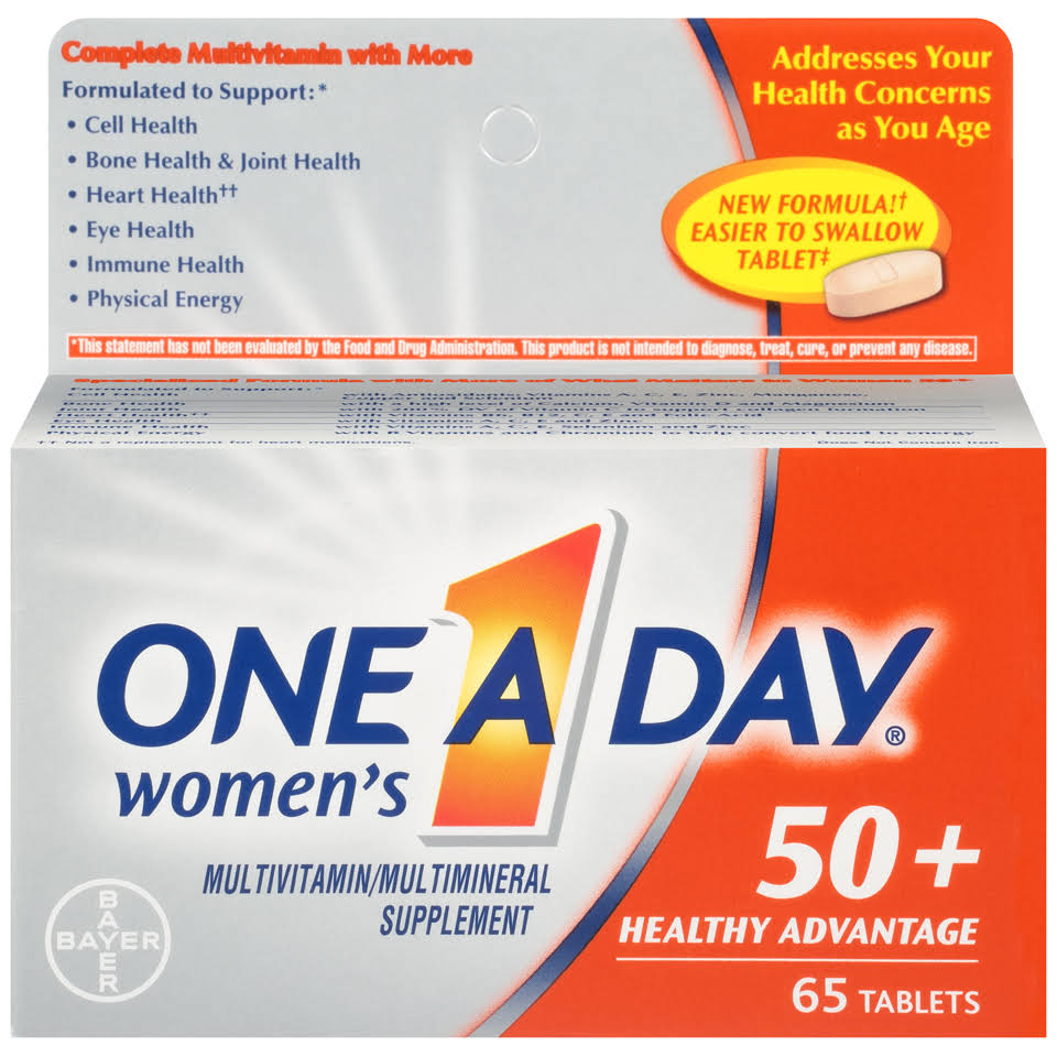 One A Day Women's Multivitamin - 65ct