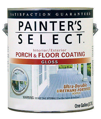 True Value Mfg UGF3-GL Interior Exterior Gloss Porch & Floor Coating