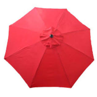 Seasonal Trends 69867 Umbrella Market Red 9ft
