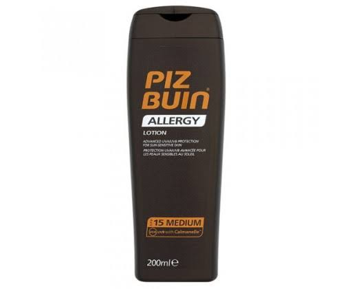Piz Buin Allergy Sun Sensitive Skin Lotion - SPF15, 200ml