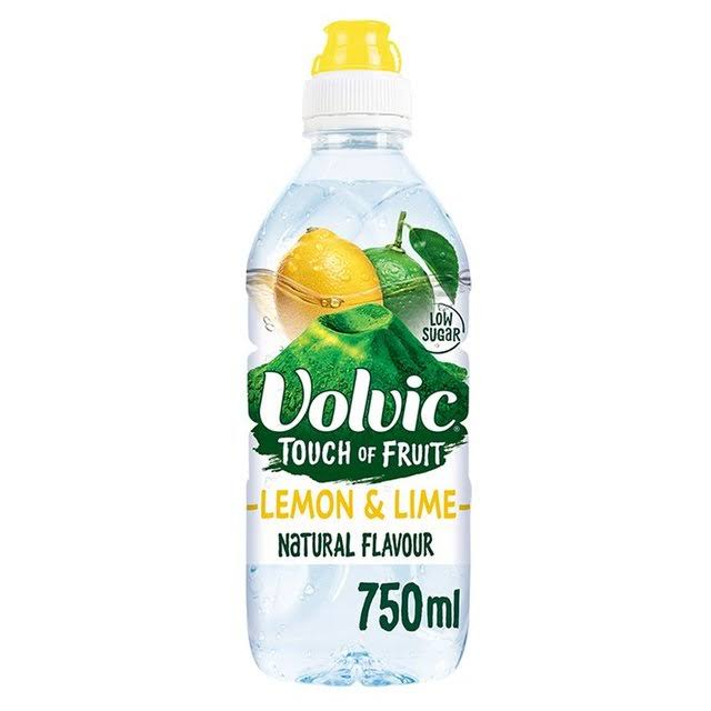 Volvic Touch of Fruit Flavoured Water - Lemon and Lime, 750ml