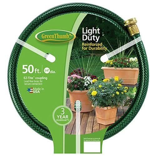 "Green Thumb Light Duty Vinyl Garden Hose - 5/8"" X 50'"