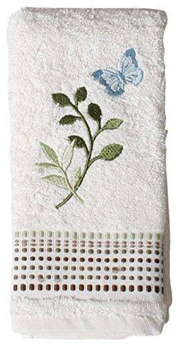 Saturday Knight Fluttering Bath Collection - Fingertip Towel