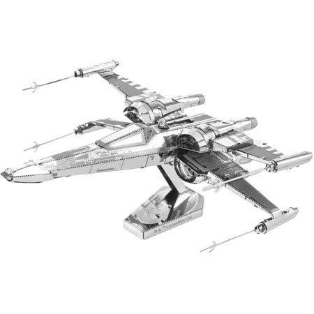 Star Wars PoE Dameron's X-Wing Fighter - Metal Earth 3D Model Puzzle