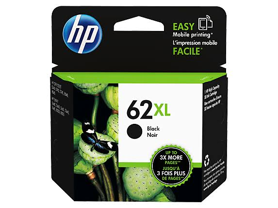 Hp 62xl C2p05an Ink Cartridge - Black, High-Yield