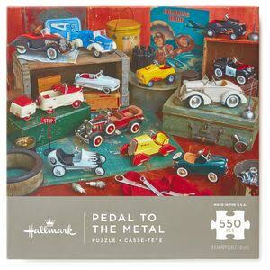 Hallmark Pedal to the Metal Kiddie Cars Jigsaw Puzzle - 550pcs