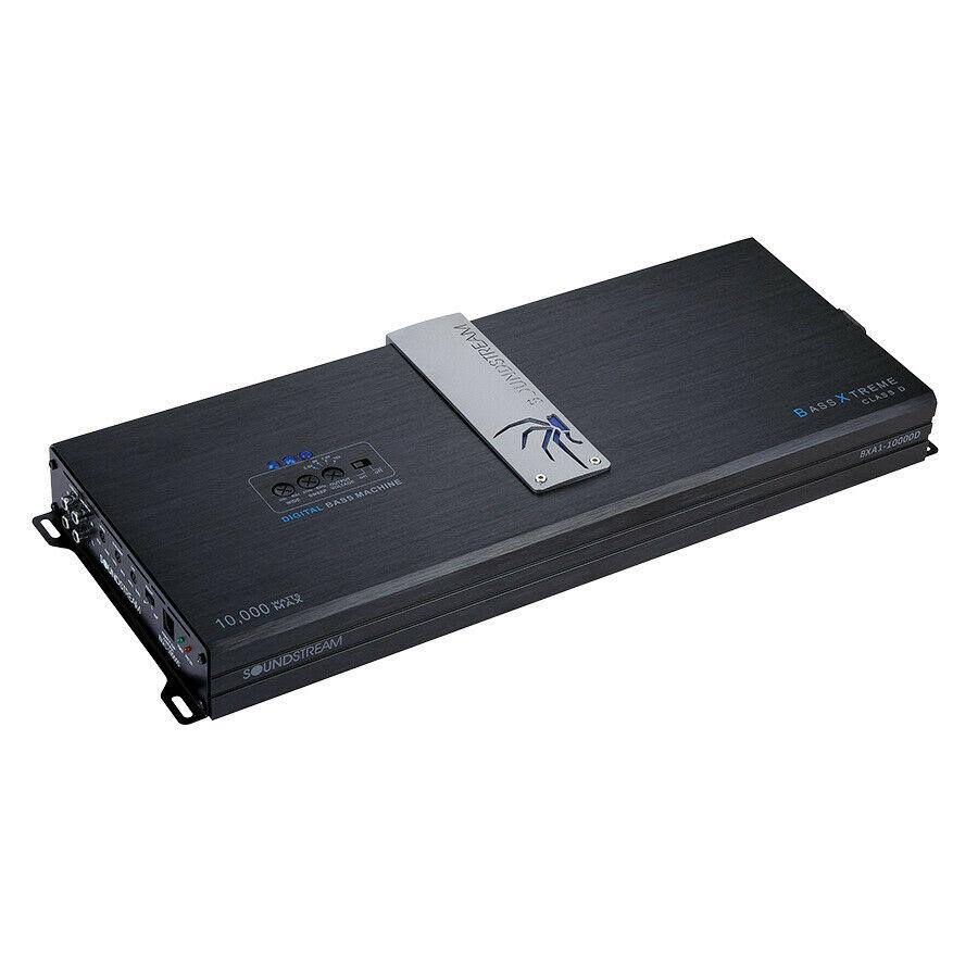 Soundstream BX 10000W MONOBLOCK Class D w/ Built-In BX Digital Bass Processor - BXA1-10000D