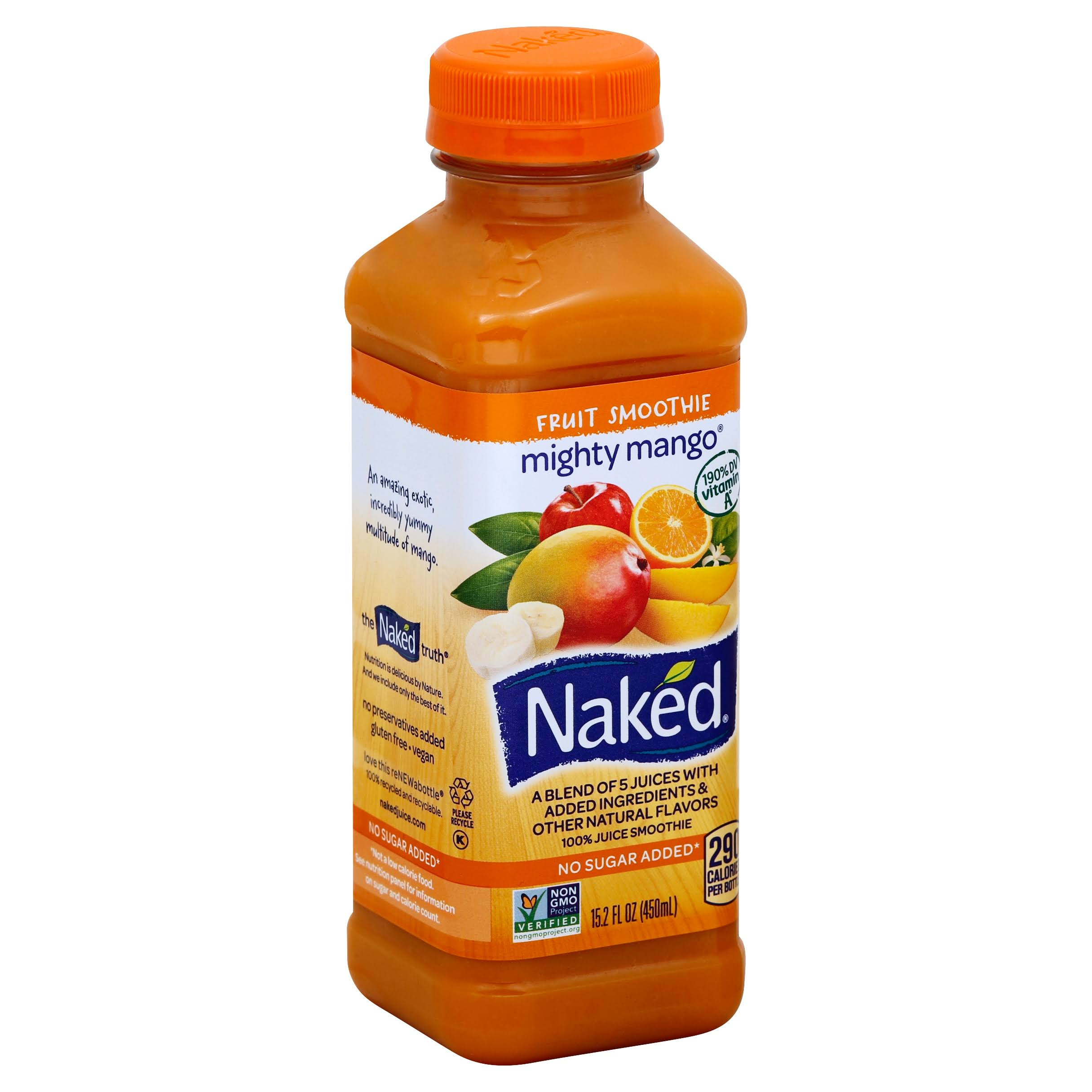 Naked Mighty Mango Juice - 15.20oz
