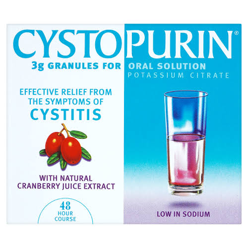 Cystopurin Granules Oral Solution - with Natural Cranberry Juice Extract, 6pk, 3g