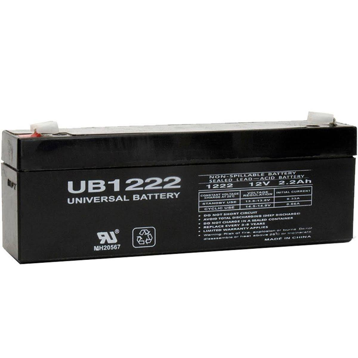 Universal Power Group UB1222 UPS Battery - 2.2 Ah