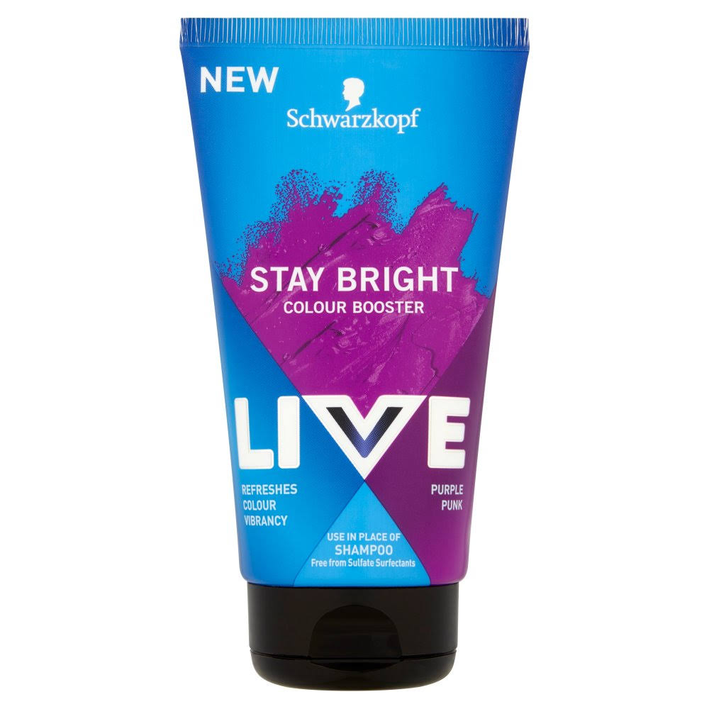 Live Stay Bright Booster Purple 150ml