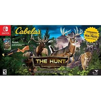 Cabela's the Hunt Championship Edition Game Bundle - Nintendo Switch