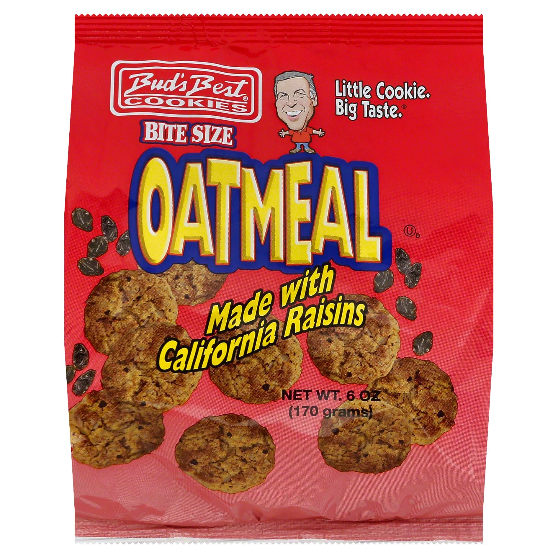 Bud's Best Oatmeal Cookies