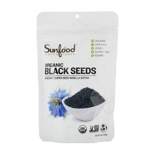 Sunfood Organic Black Seeds - 4oz