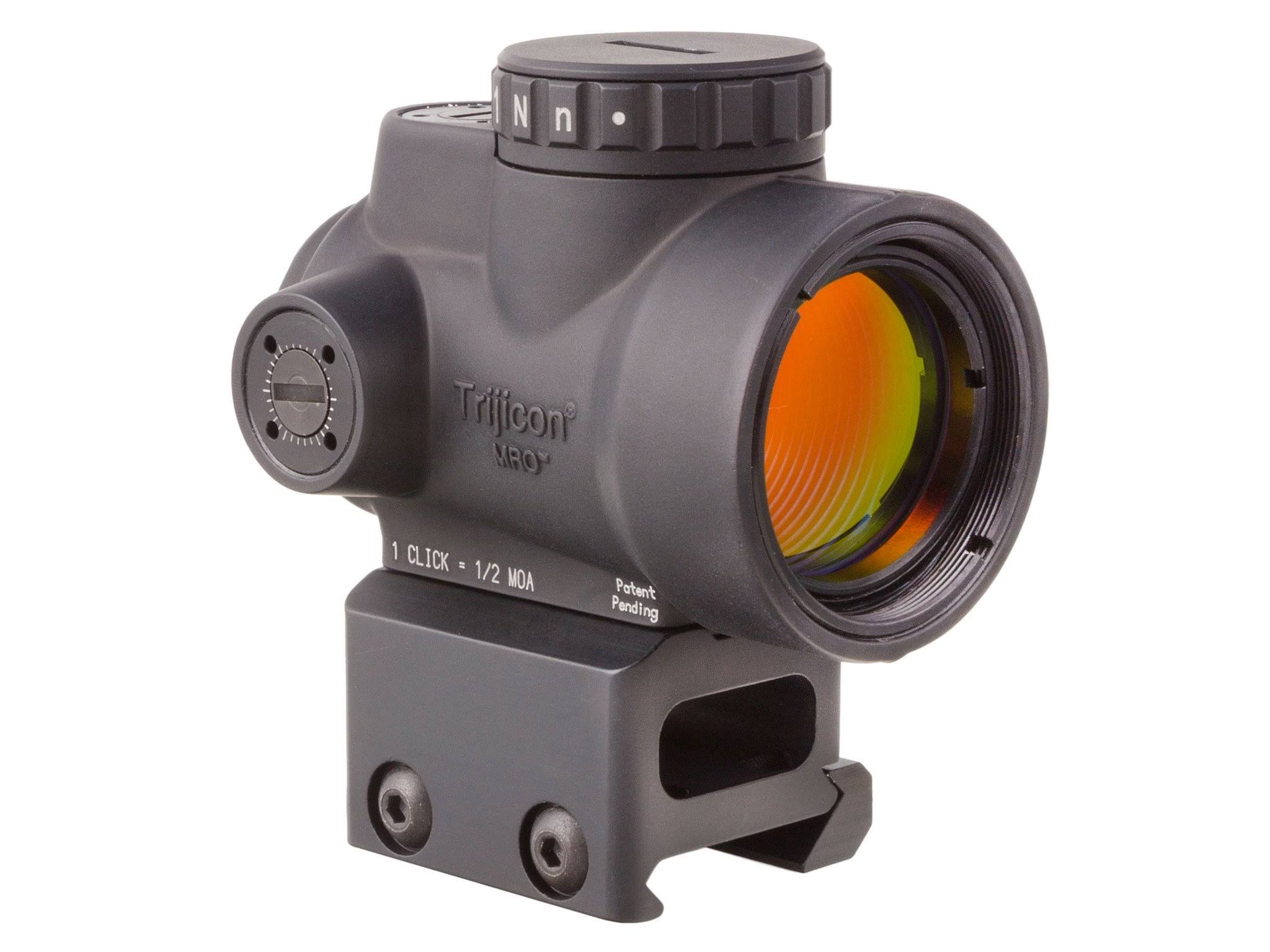 Trijicon MRO Adjustable Sight - 1mm x 25mm, Red Dot