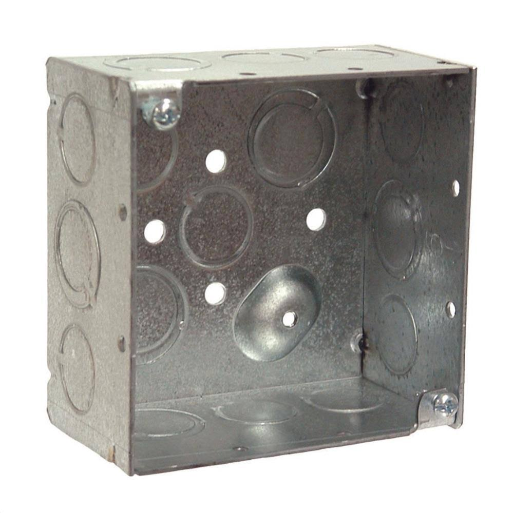 "Hubbell Bell Electrical Products Square Outlet Box - 2"" x 4"""