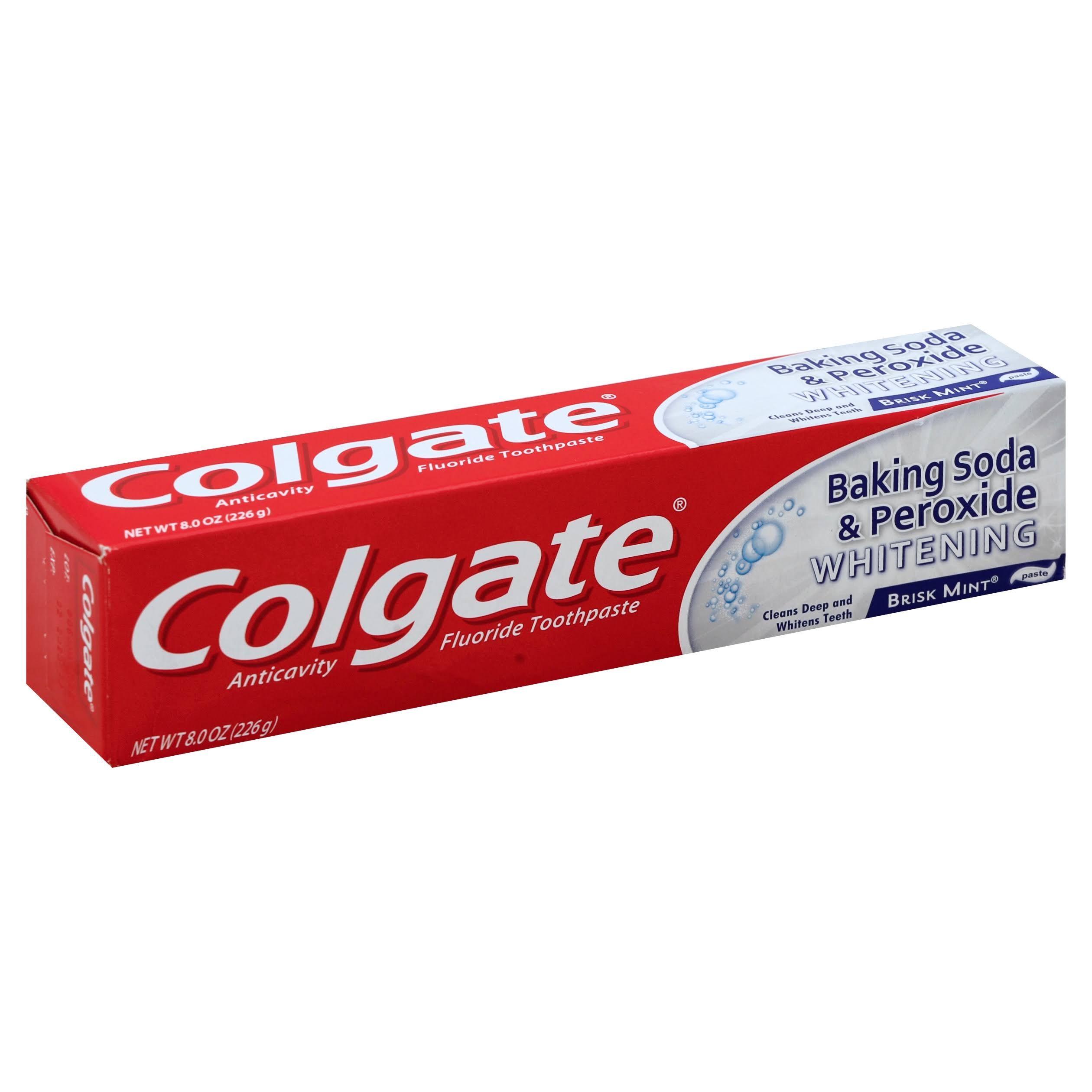 Colgate Baking Soda and Peroxide Whitening Bubbles Toothpaste - 8oz