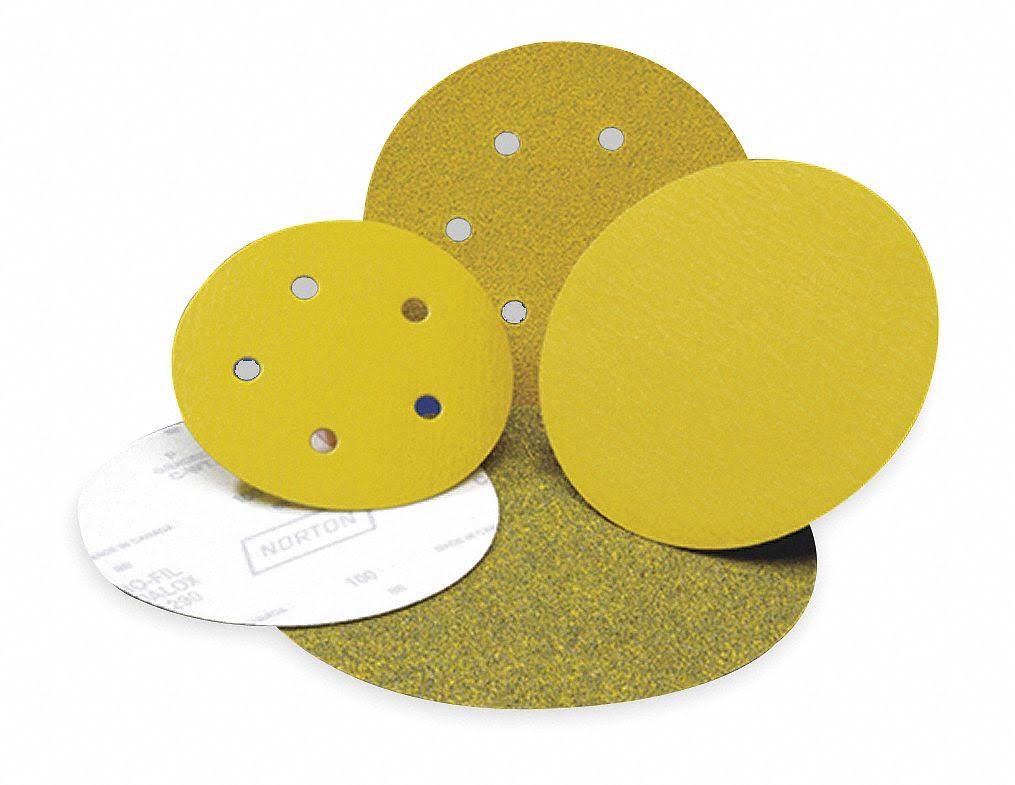 Norton High Performance Hook and Sand Paper Discs