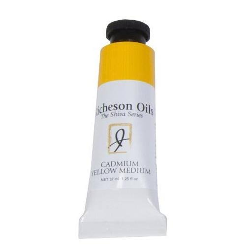Jack Richeson Artist Oil Colours - Cadmium Yellow Medium, 37ml