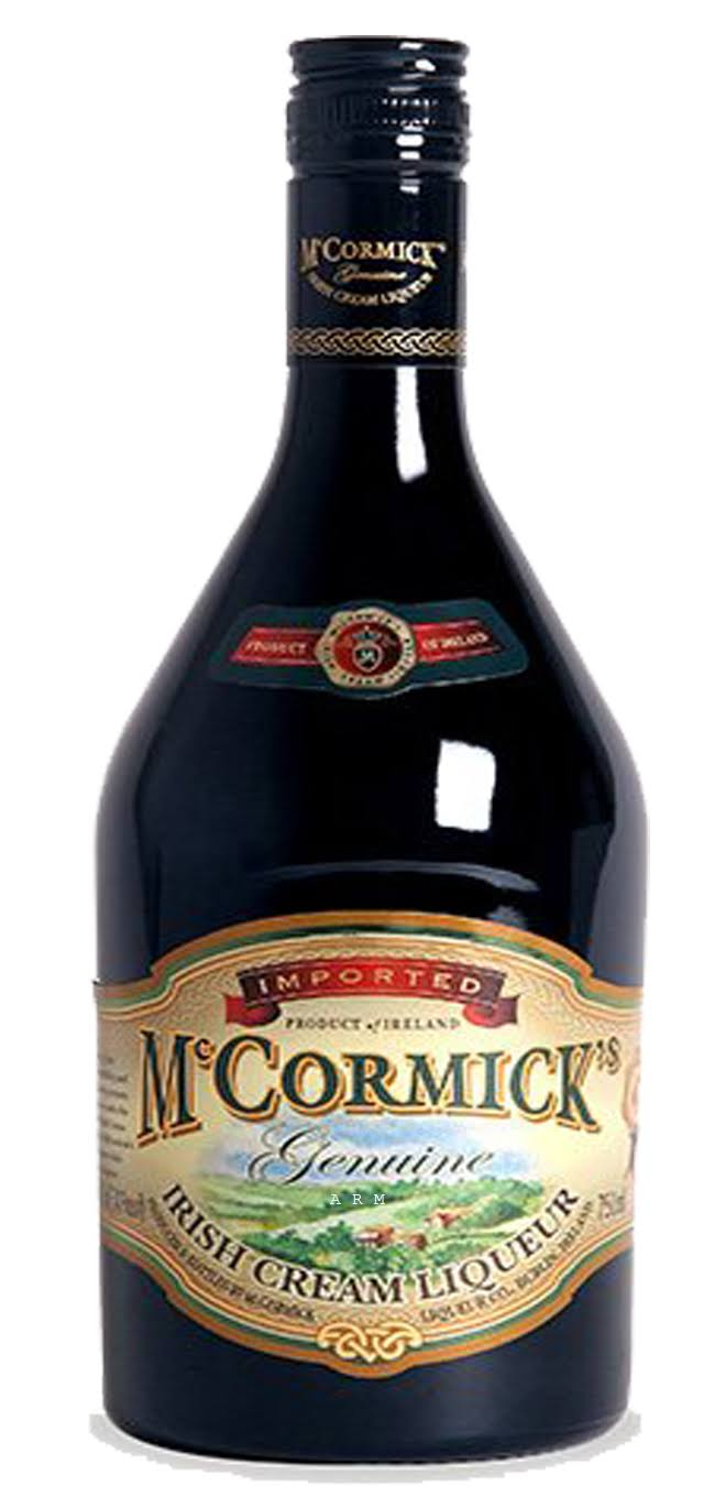 McCormick Irish Cream - 750 ml bottle
