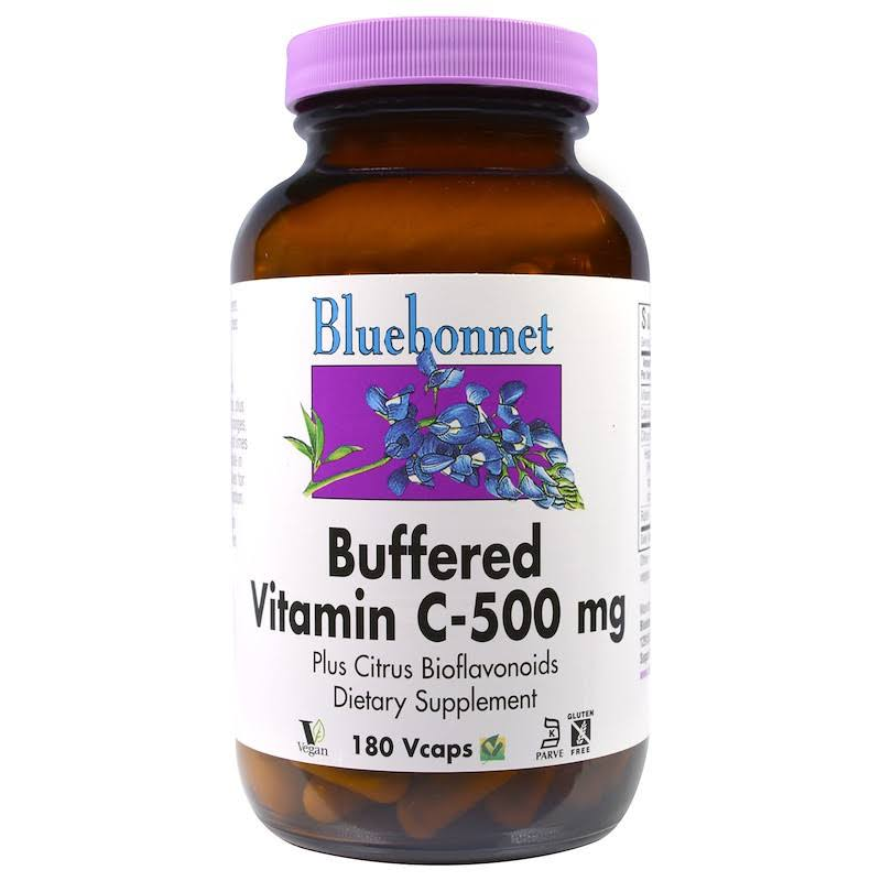 BlueBonnet Buffered Vitamin C Supplement - 500mg, 180ct