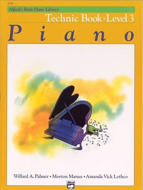 Alfred's Basic Piano Course Music Book - Technic Book 3