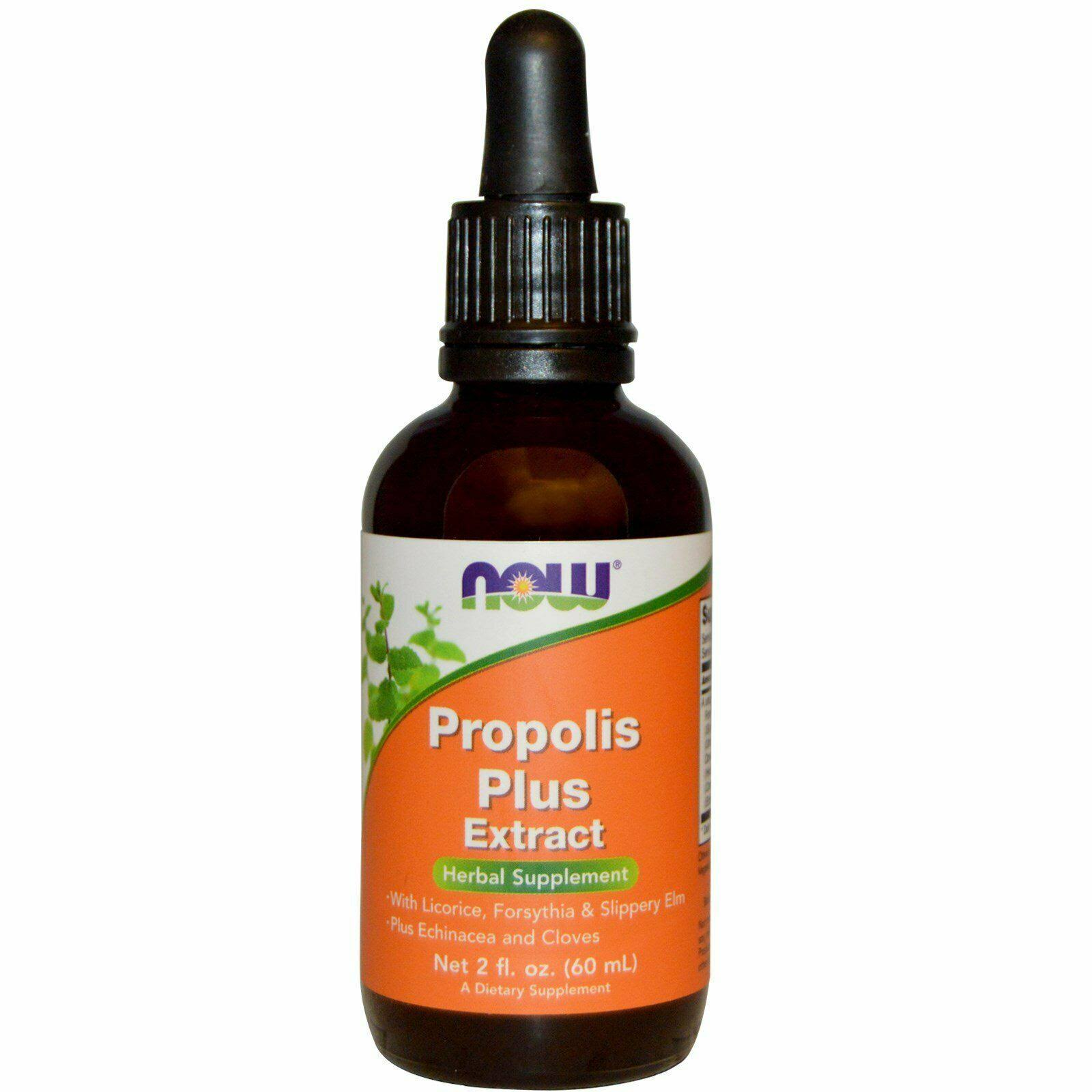 Now Foods Propolis Plus Extract Supplement - 2oz