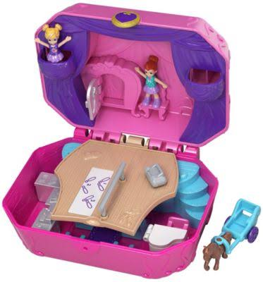 Polly Pocket World Ballet Compact Play Set - 4 Years and Up
