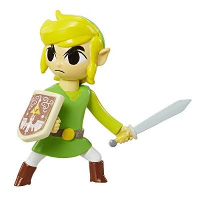 World of Nintendo The Legend of Zelda Link Mini Figure - 2.5in