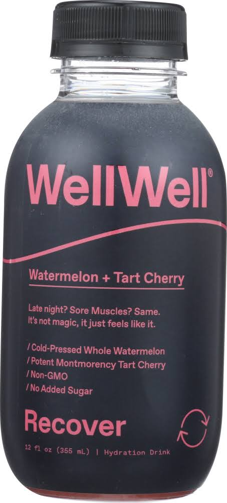 Wellwell KHCH00334323 Recover Watermelon & Cherry Juice 12 oz