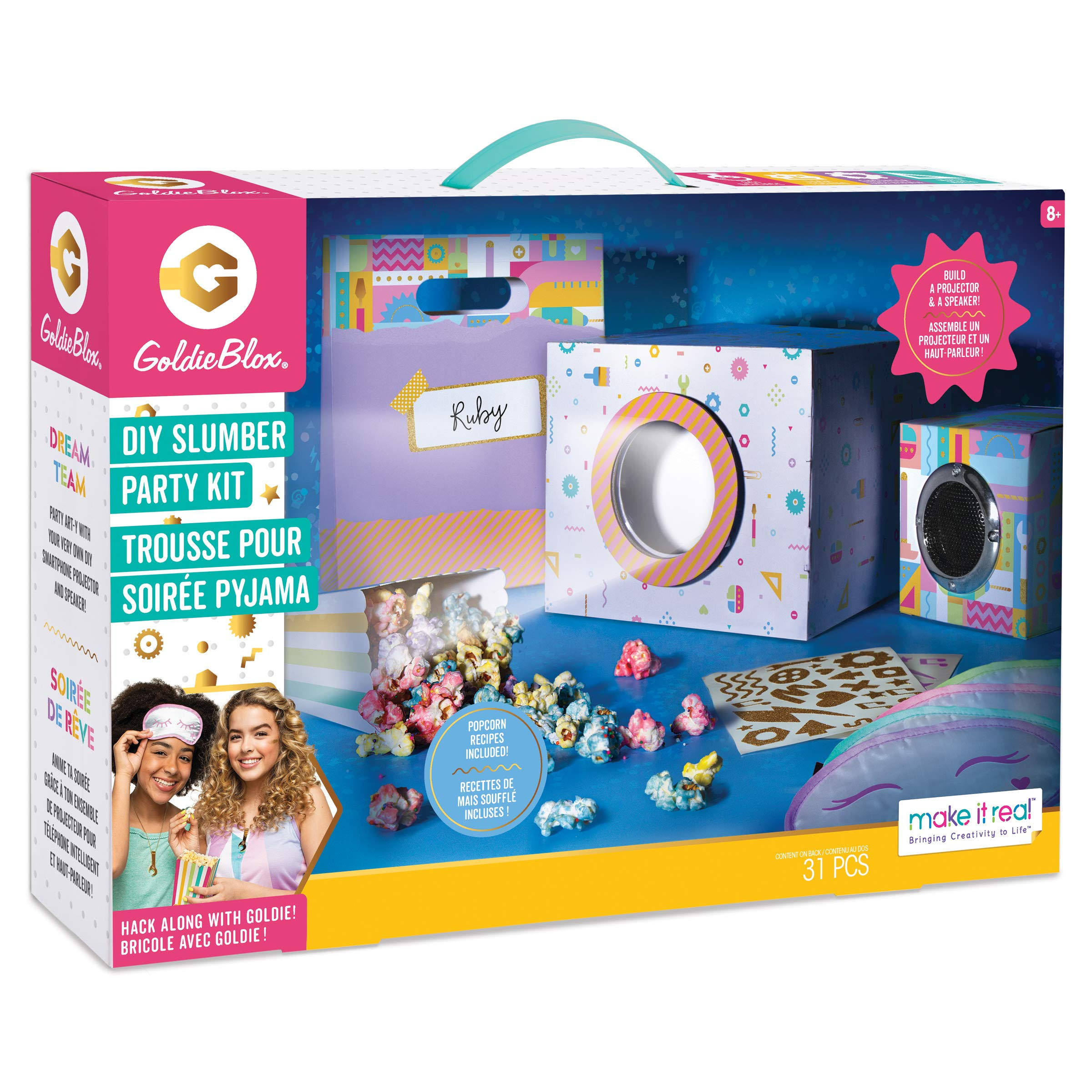 GoldieBlox DIY Slumber Party Kit